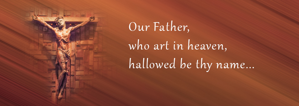 Lord's Prayer banner