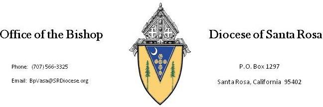 Diocese letterhead